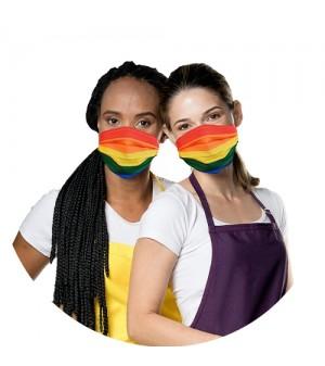 MÁSCARA ARCO-ÍRIS (LGBT)